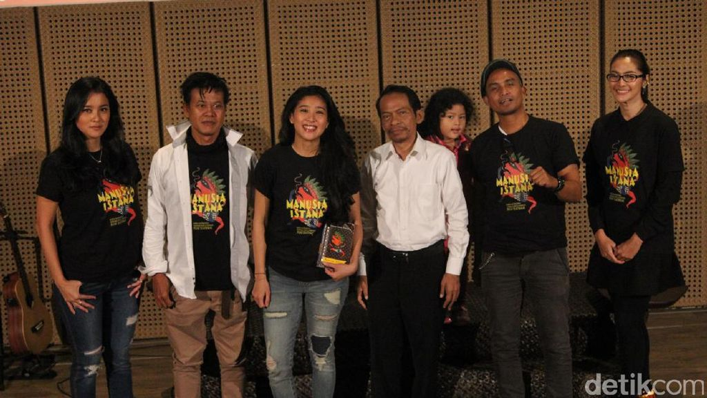Puisi Teatrikal Manusia Istana Jadi Drama Panggung yang Menarik