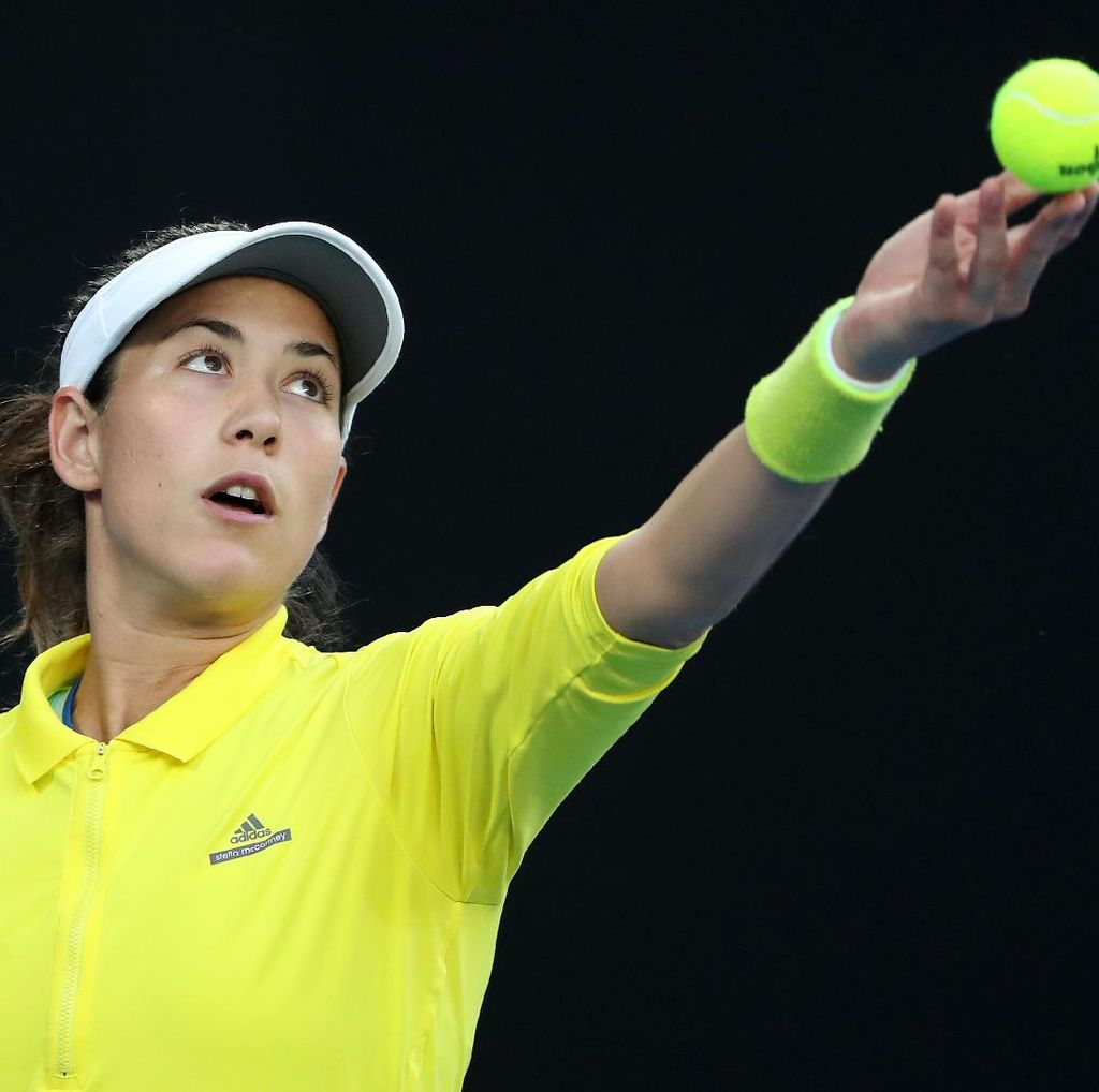 Muguruza Menang Straight Set