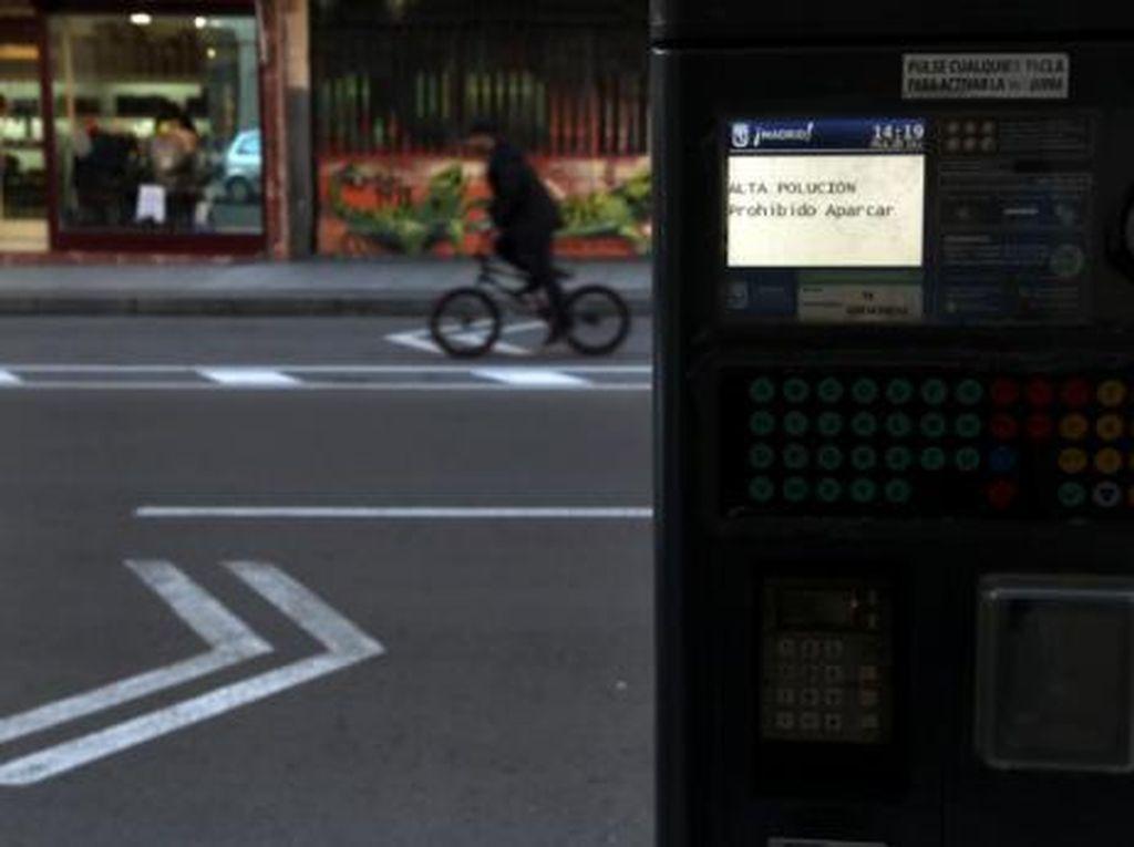 Tahun 2019, Madrid Rencanakan Larang Penggunaan Mobil Pribadi