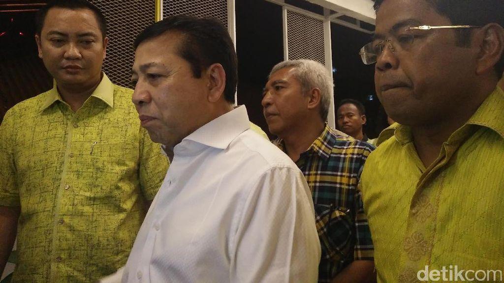 Pesan Novanto ke Kader untuk Pilkada Serentak: Hindari Money Politics