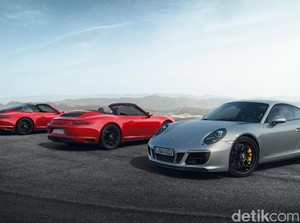 Porsche 911 GTS Terbaru Tampil Lebih Sporty