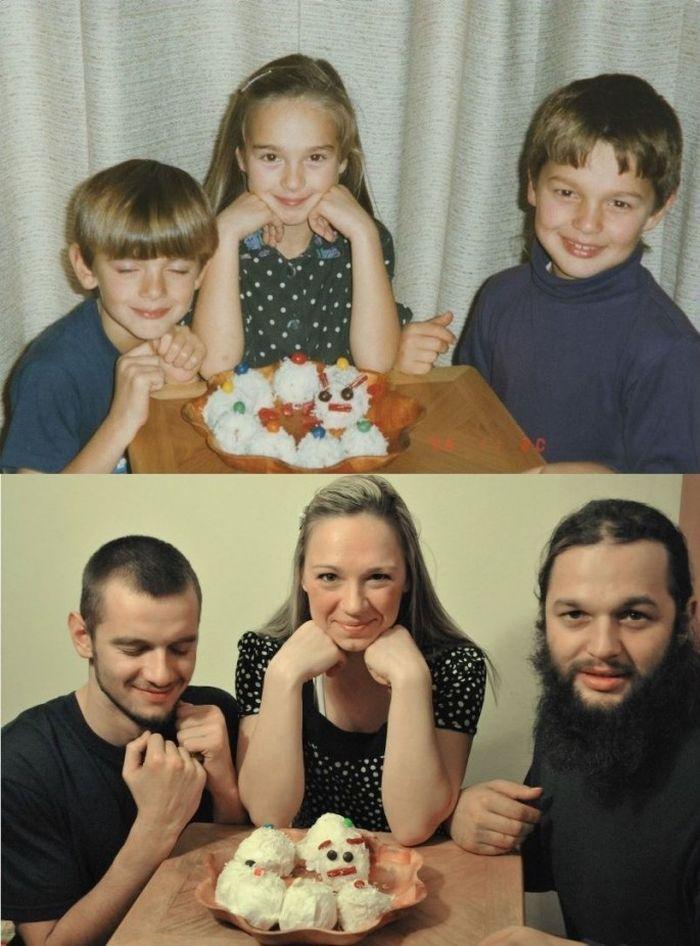 Tentu wajah-wajah mereka sudah jauh berubah dari masa belia. Foto: Istimewa