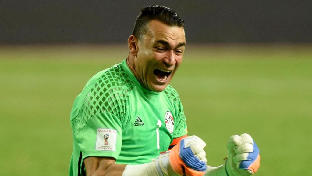 Kiper Mesir Jadi Pemain Tertua yang Tampil di Piala Afrika