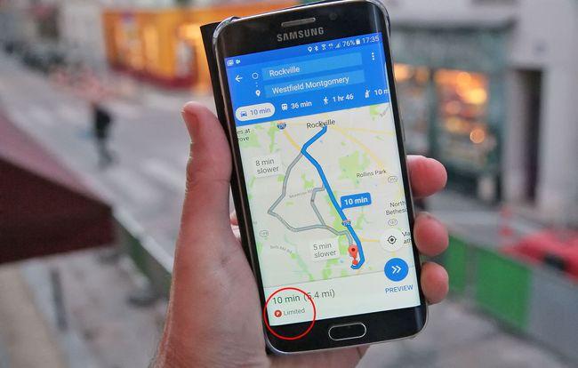 Google Maps bakal Sarankan Tempat Parkir