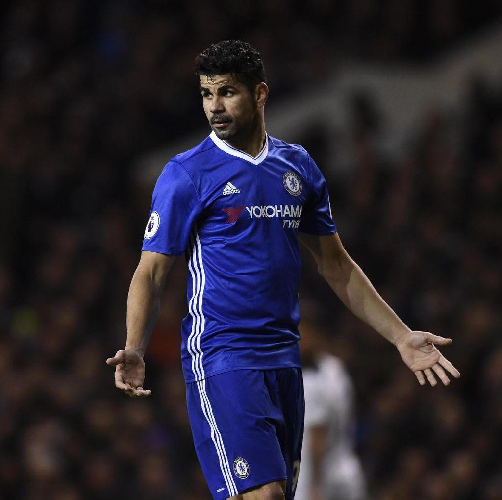 Diego Costa Tertarik Main di Prancis Suatu Hari Nanti