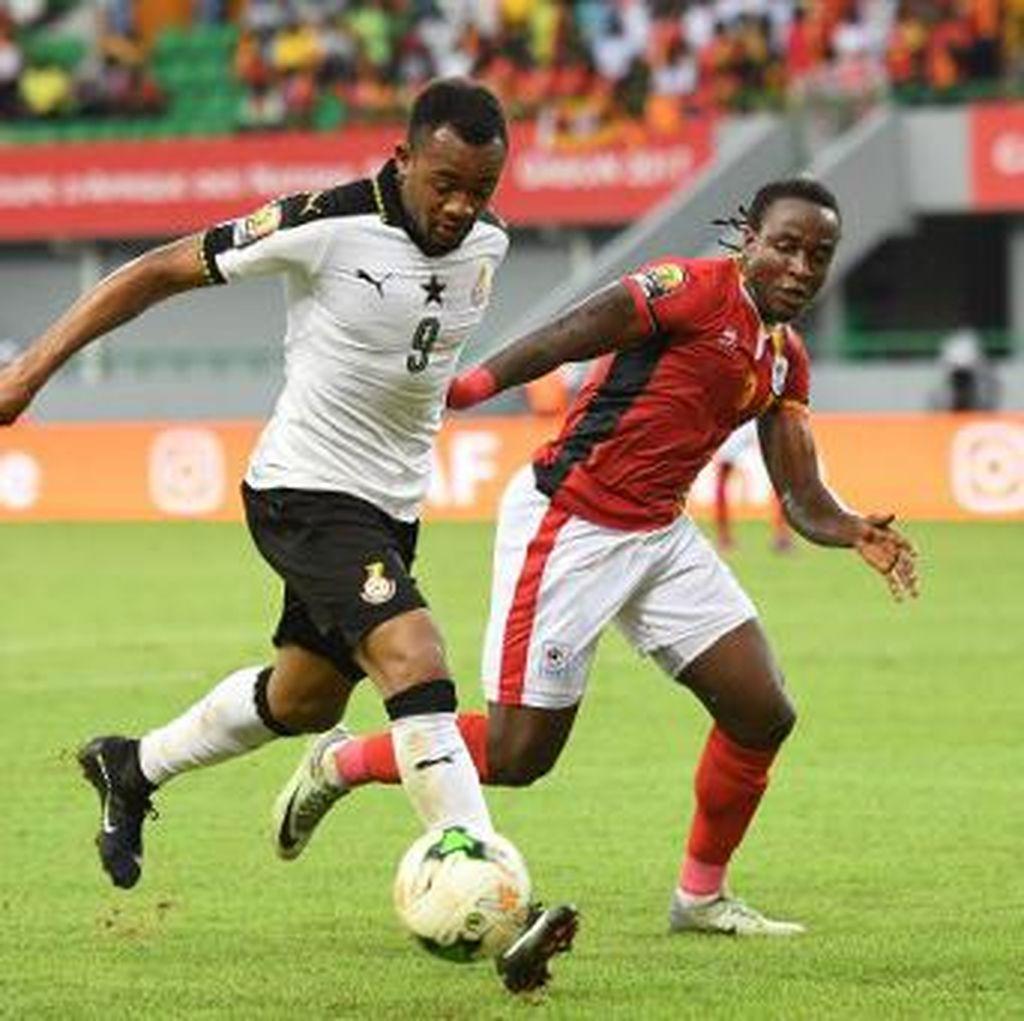 Ghana Kalahkan Uganda, Mesir Diimbangi Mali