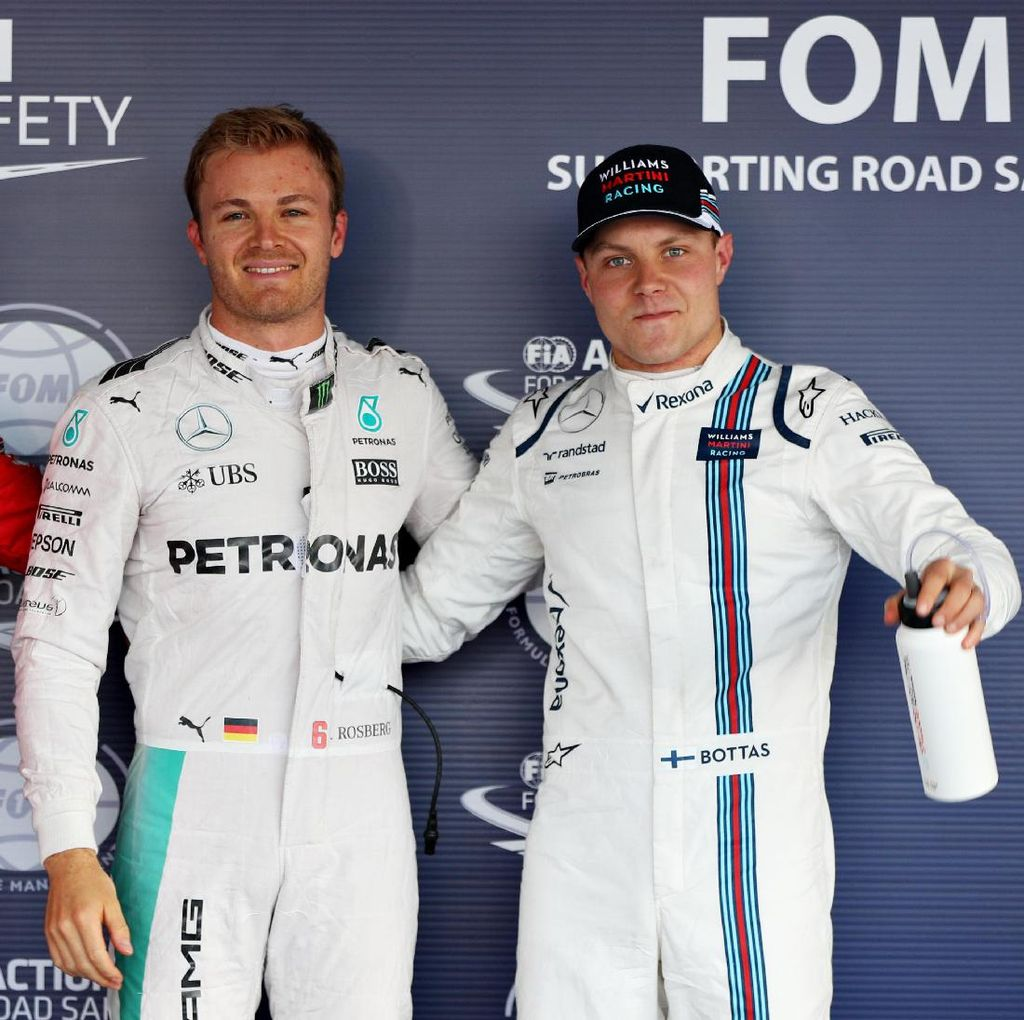Mercedes Rekrut Bottas, Ini Kata Rosberg