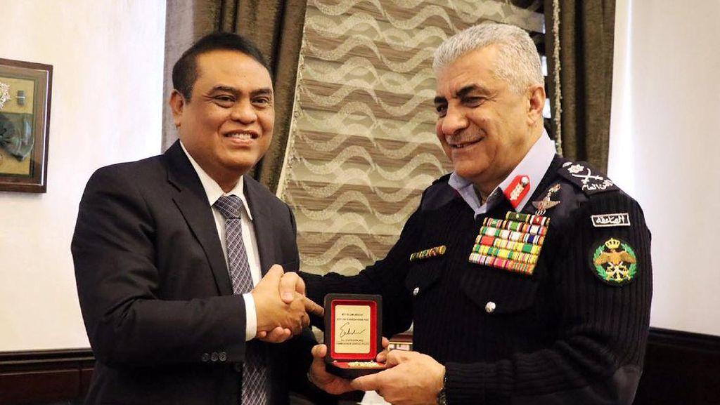 Indonesia dan Yordania Kerjasama Berantas Terorisme