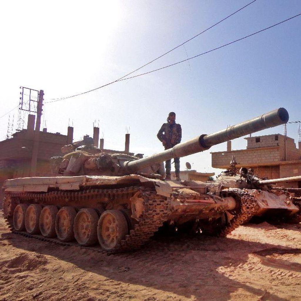Penyaluran Bantuan Pangan Untuk Warga Suriah Terhenti Akibat ISIS