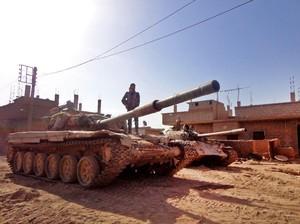 Erdogan: Turki Segera Ambil Alih Benteng ISIS di Al-Bab Suriah