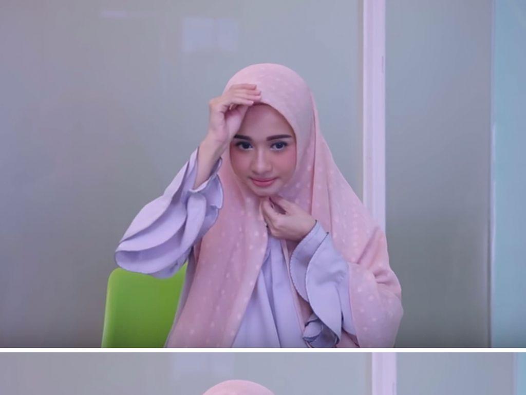 Tutorial Hijab untuk ke Segala Acara Ala Laudya Cynthia Bella