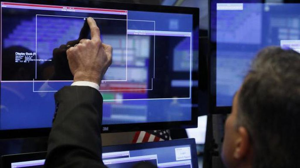 Belum Ada Sentimen Positif, Wall Street Berakhir Datar