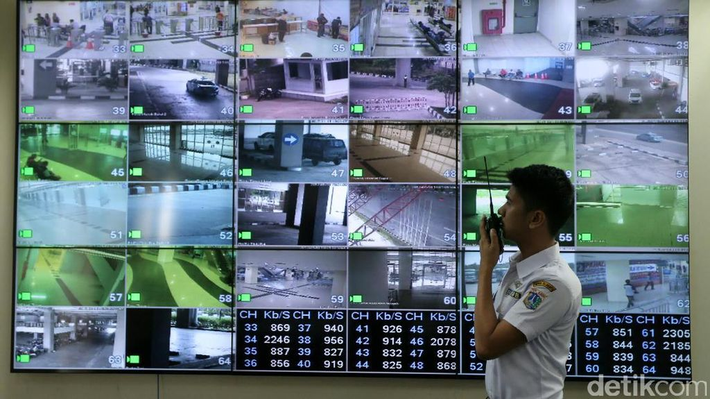 Puluhan CCTV Pantau Terminal Pulogebang