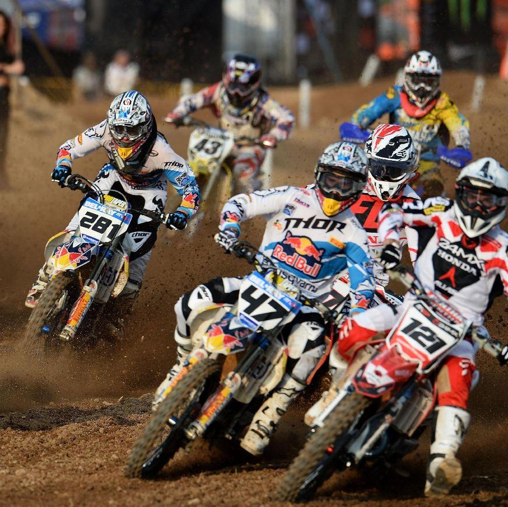 Motorcross MXGP di Pangkalpinang, Indonesia Turunkan Tim Merah Putih