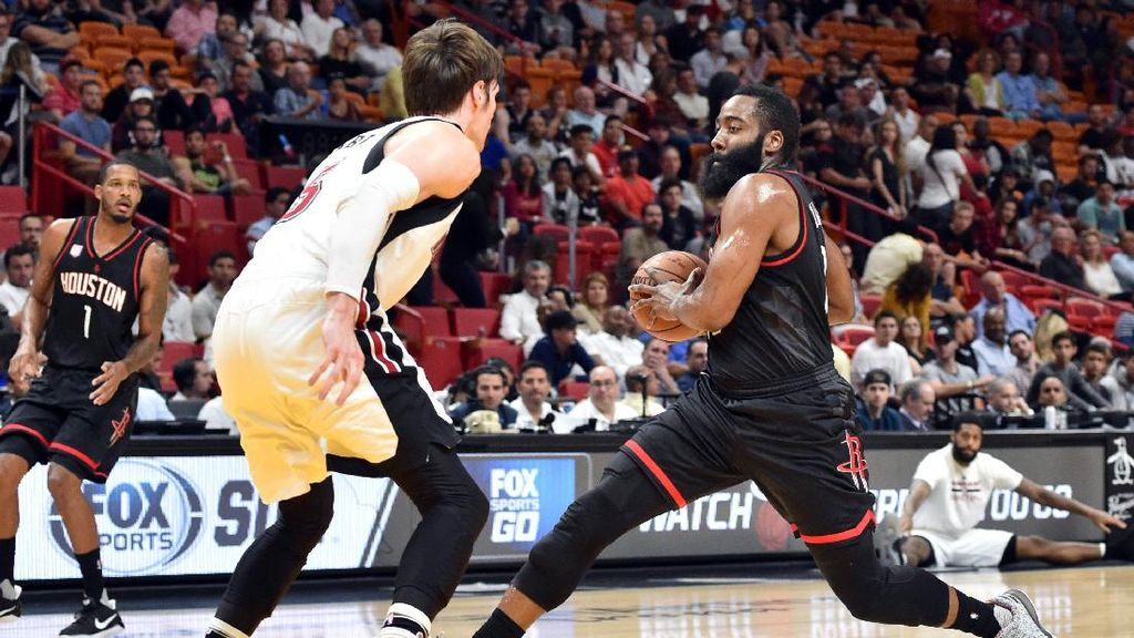 40 Poin Harden Tak Mampu Selamatkan Rockets dari Kekalahan