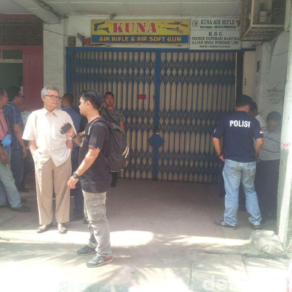 Polisi Masih Selidiki Penembakan Pengusaha Airsoft Gun di Medan