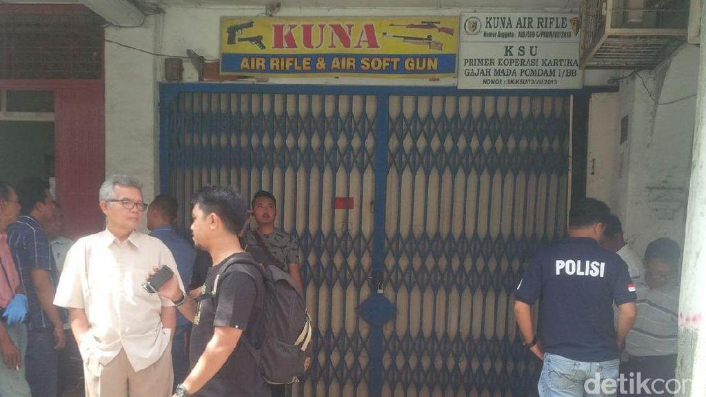 Pengusaha Airsoft Gun di Medan Ditembak Orang Misterius