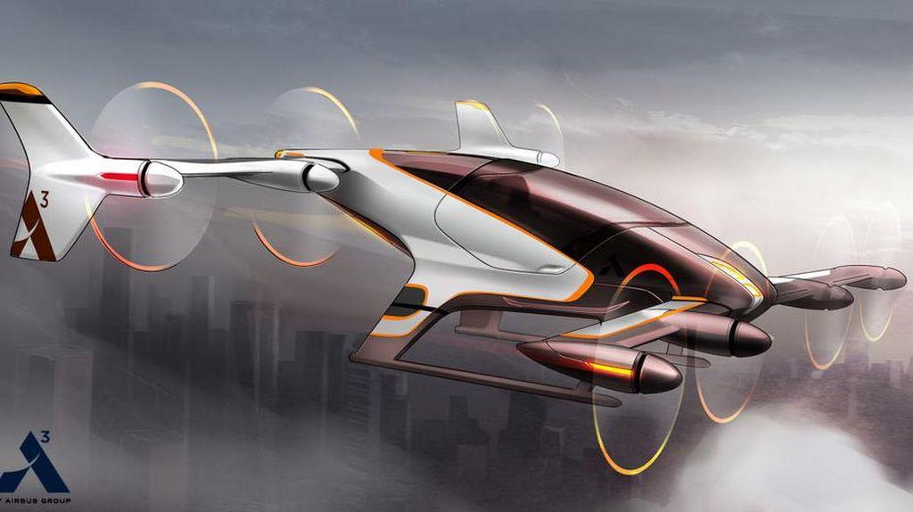 Airbus Serius Kembangkan Mobil Terbang Otonom