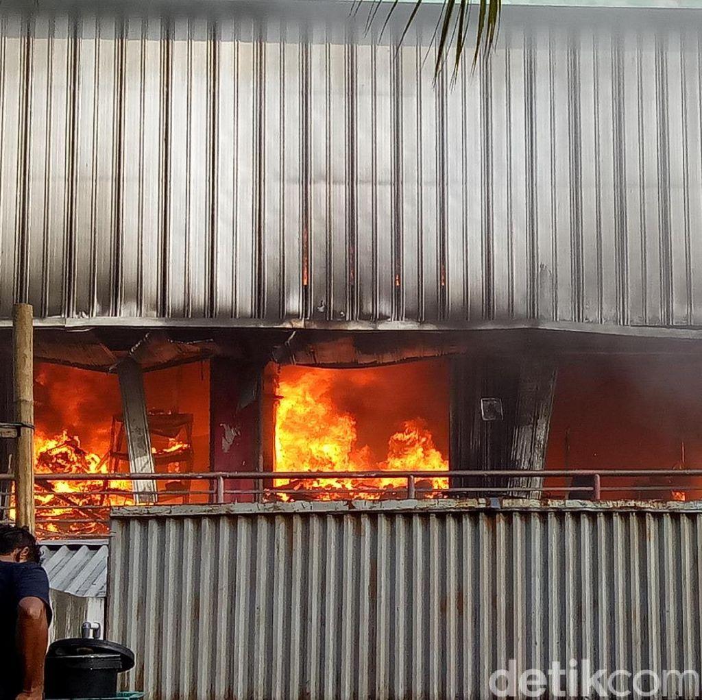 Kadis Damkar: Perambatan Api Cepat karena Ada Bahan Mudah Terbakar