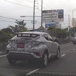Toyota C-HR Spek ASEAN Mulai Diuji Coba