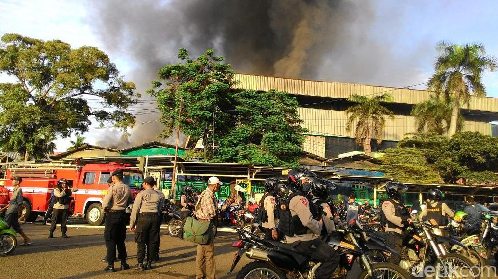 Kebakaran Pasar Senen, Polisi: Kami Antisipasi Penjarahan