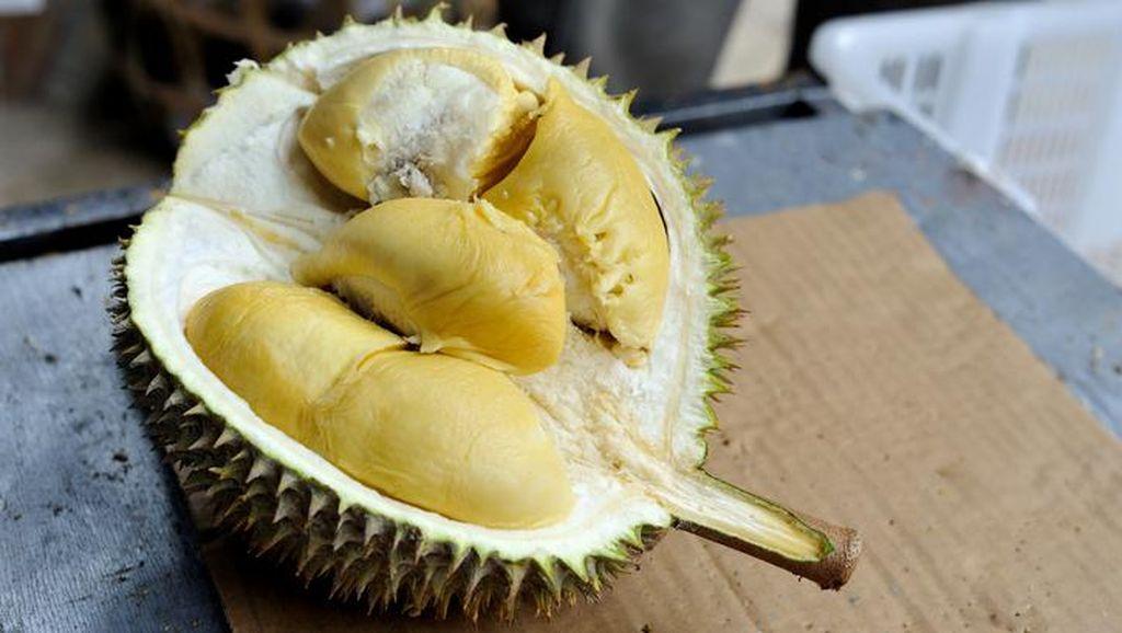 Tak Boleh Dibawa ke Kereta, Wanita Ini Nekat Habiskan Durian di Stasiun