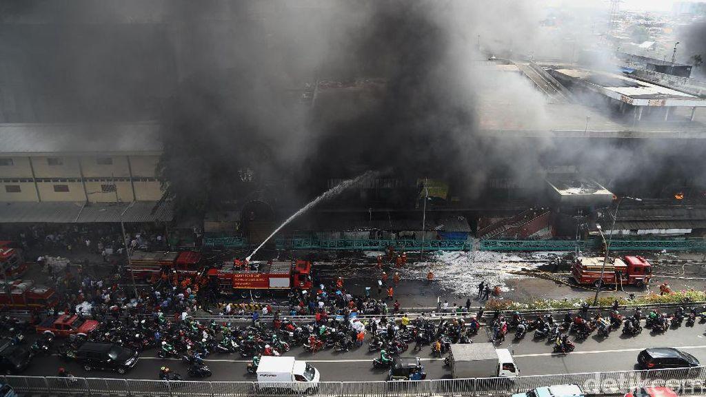 Kebakaran Pasar Senen, Pemkot Jakpus Siapkan Penampungan Pedagang
