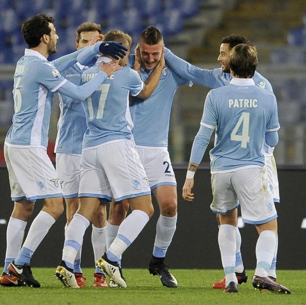Tekuk Genoa, Lazio Hadapi Inter di Perempatfinal