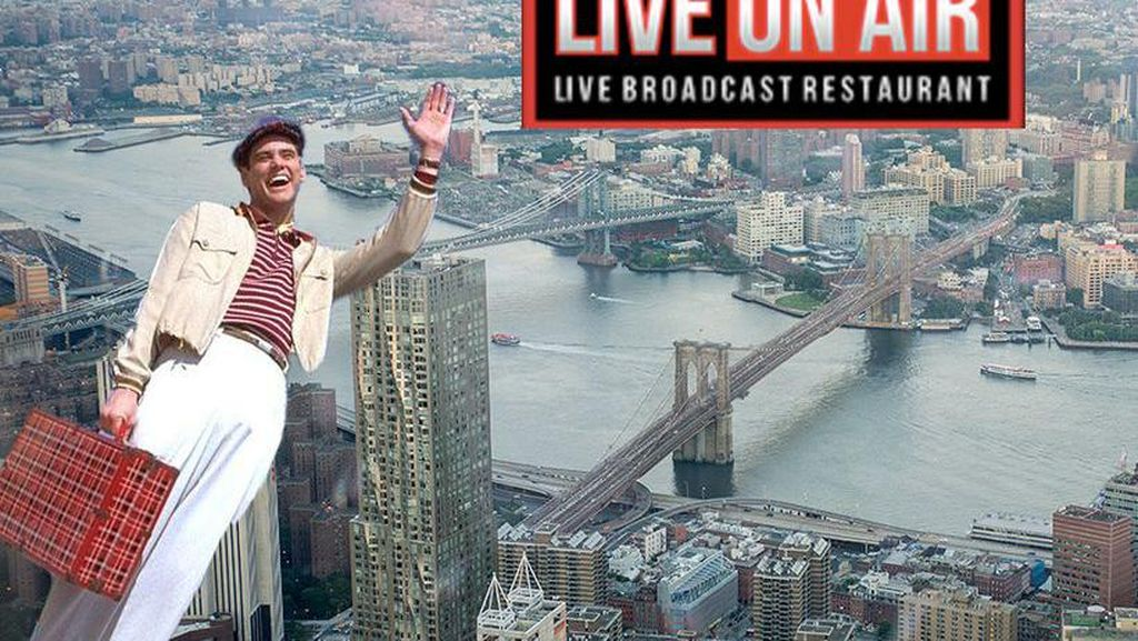 Live on Air, Restoran Pertama di Dunia Berkonsep Live Streaming