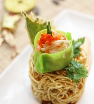 <i/>Green Dumpling Salad</i> Jadi Suguhan Istimewa  Tahun Baru di Le Gran Cafe