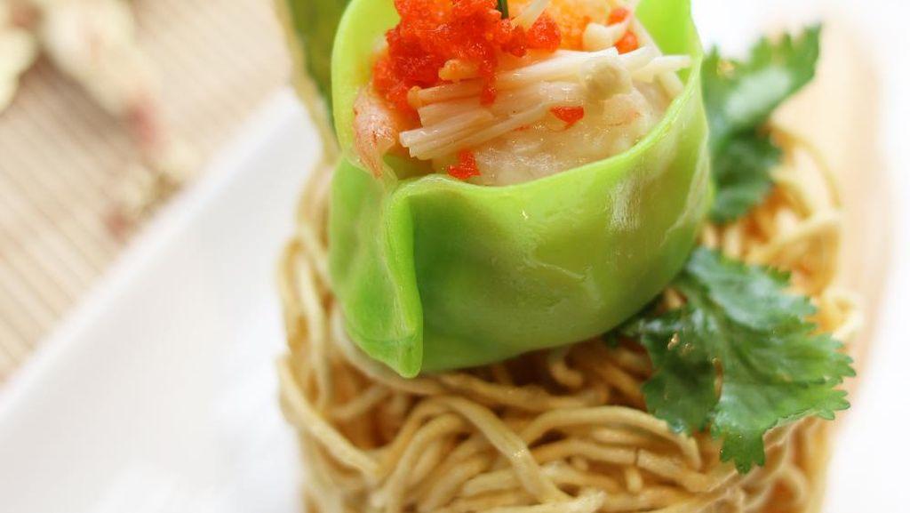 Green Dumpling Salad Jadi Suguhan Istimewa  Tahun Baru di Le Gran Cafe