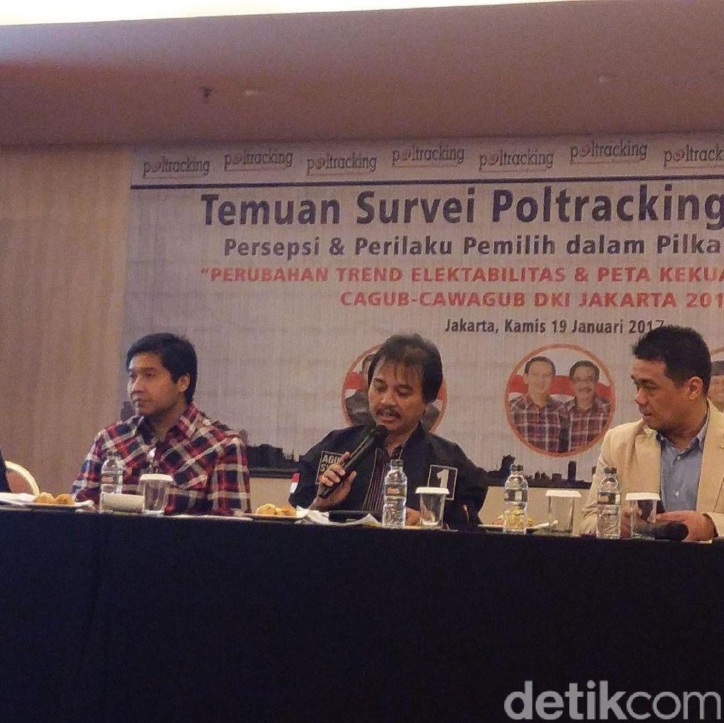 Gerindra: Hasil Survei Internal Anies-Sandi Menggembirakan