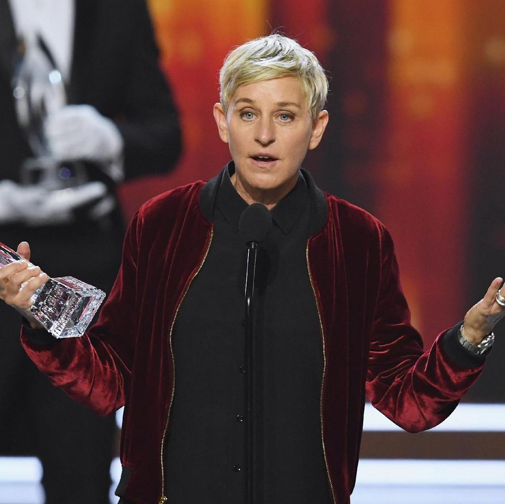 Finding Dory Mendominasi, Ellen DeGeneres Pecahkan Rekor Peoples Choice Awards