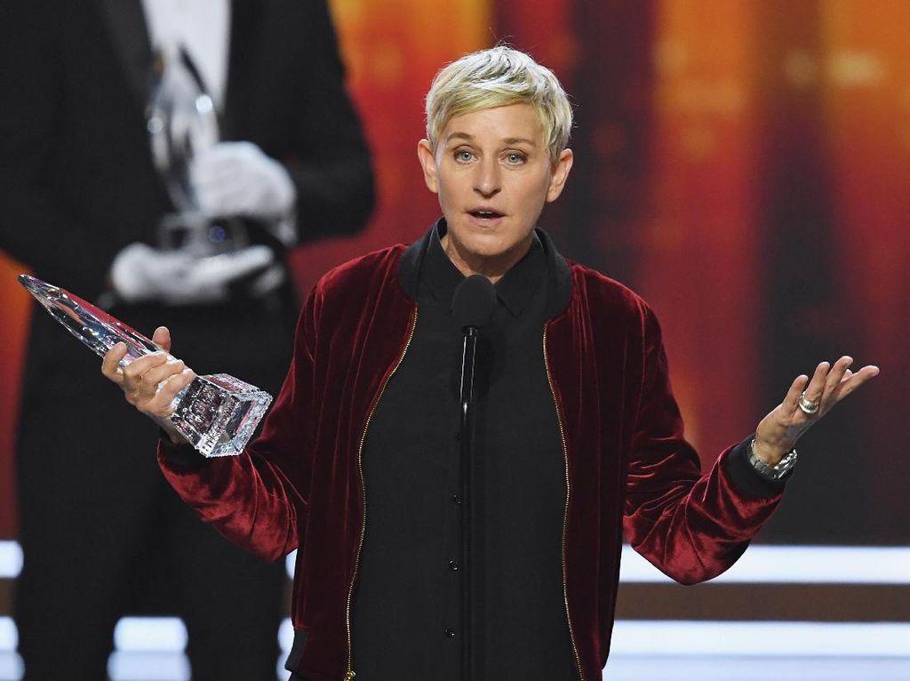 Ditantang Leonardo DiCaprio, Ellen DeGeneres Sumbang Rp 15 M
