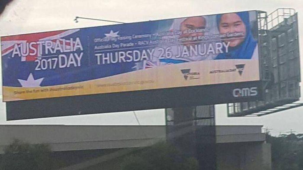 Billboard Gadis Berhijab Akan Dipasang di Seluruh Australia