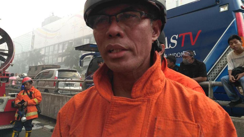 Damkar DKI: Kebakaran Pasar Senen Sudah Padam, Proses Pendinginan