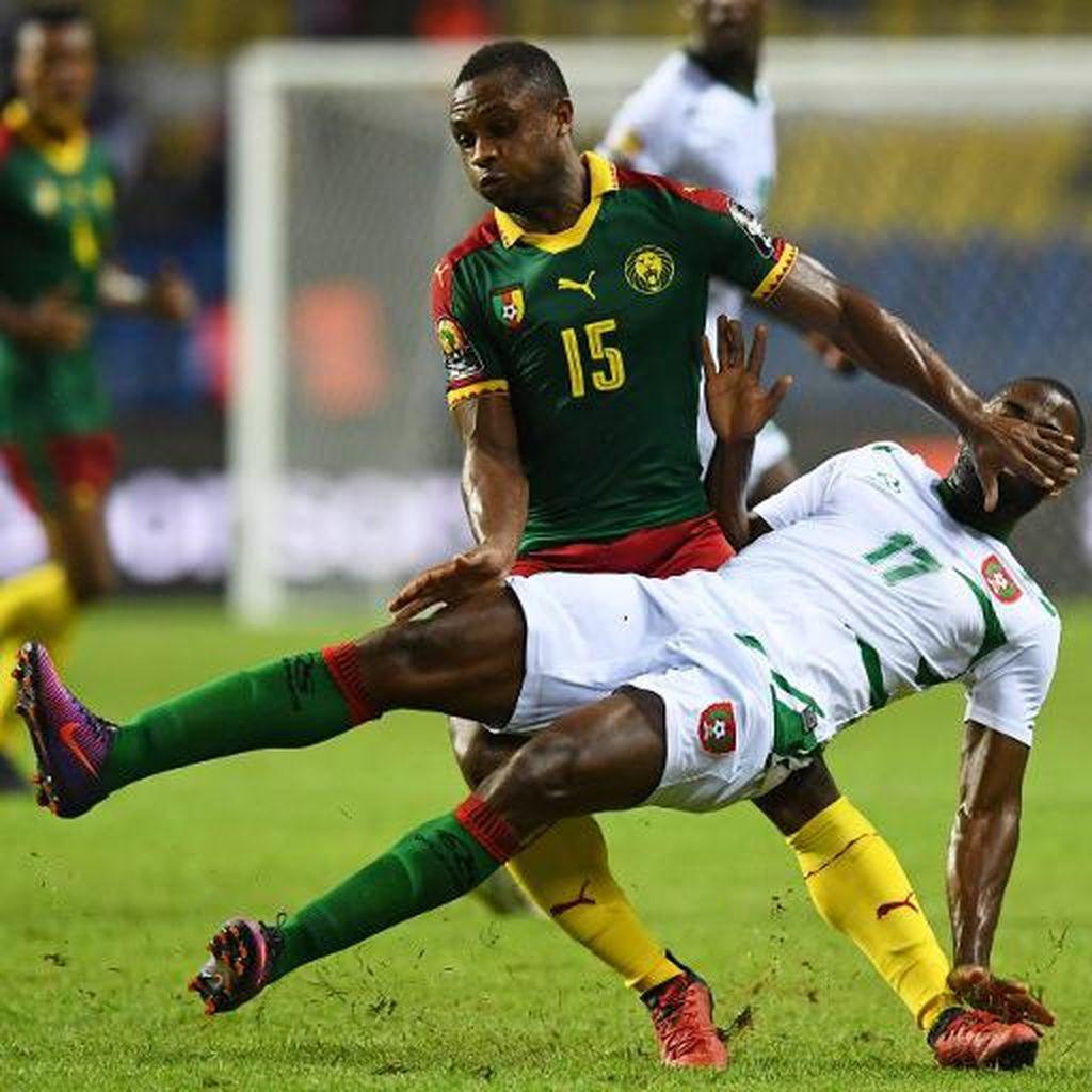Kamerun Atasi Guinea-Bissau, Gabon Kembali Petik Hasil Seri