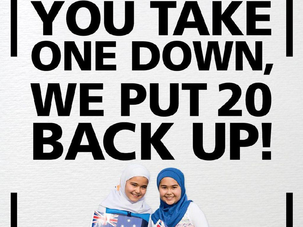 Sumbangan Capai Rp 2 Miliar, Billboard 2 Hijabers Australia Kembali Dipasang