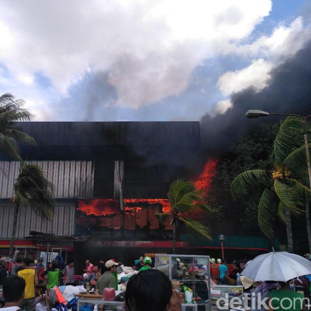 Pasar Senen Terbakar Lagi, Pemprov DKI Bicara Standar Keamanan