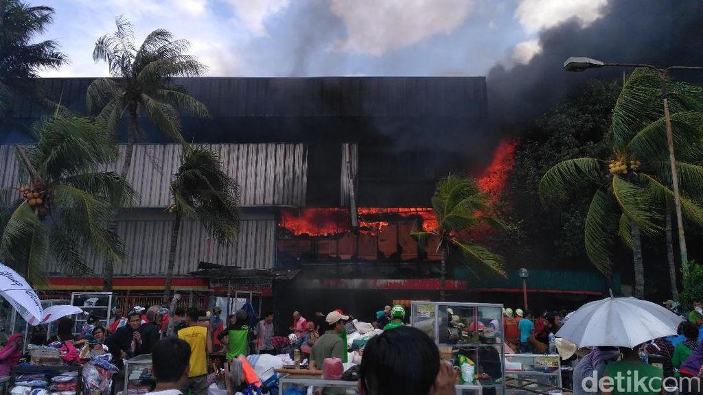 Kebakaran Pasar Senen, 6 Korban Luka Ringan dan 1 Orang Pingsan