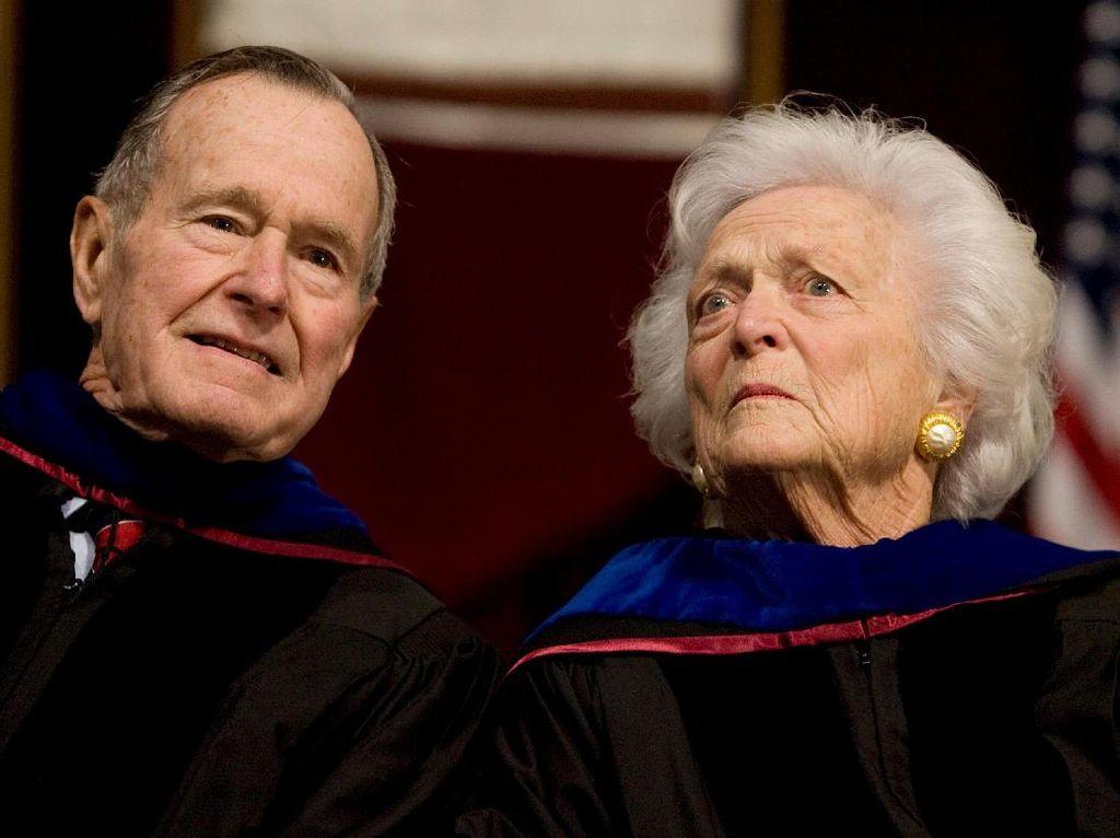 Bush Senior Masuk RS, Beberapa Hari Usai Wafatnya Istri