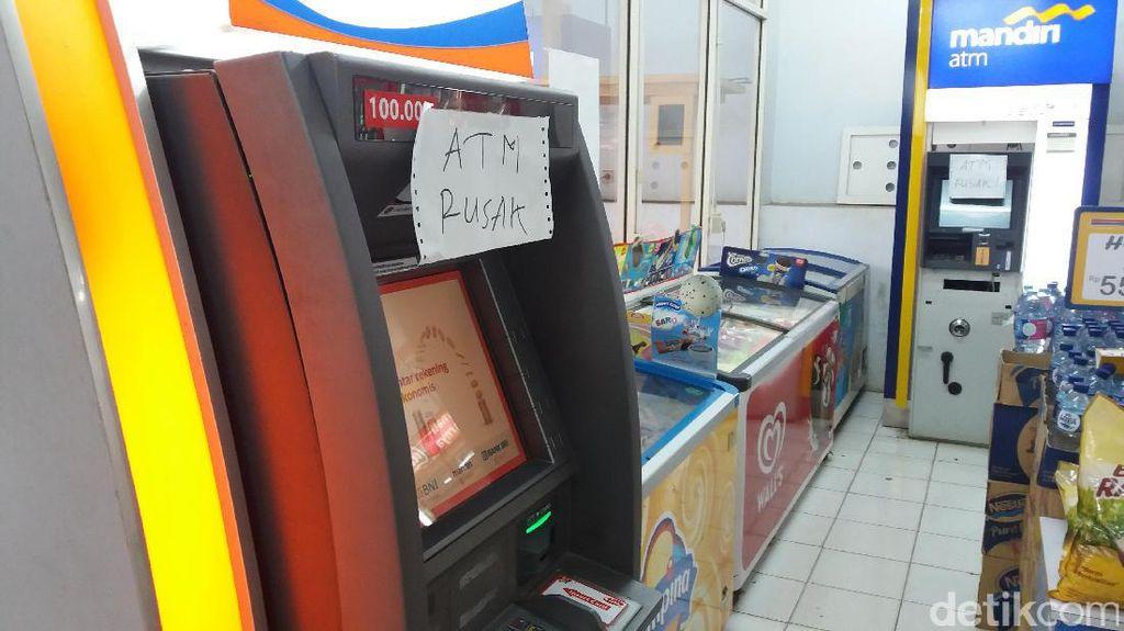 Rusak CCTV, Perampok Kuras 2 ATM di Indomaret di Sukabumi