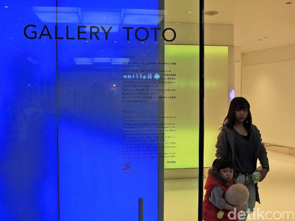 Mengagumi Galeri Toilet di Bandara Narita, Jepang