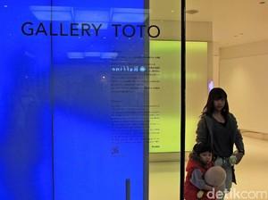 Cuma di Bandara Narita, Ada Galeri Khusus Toilet