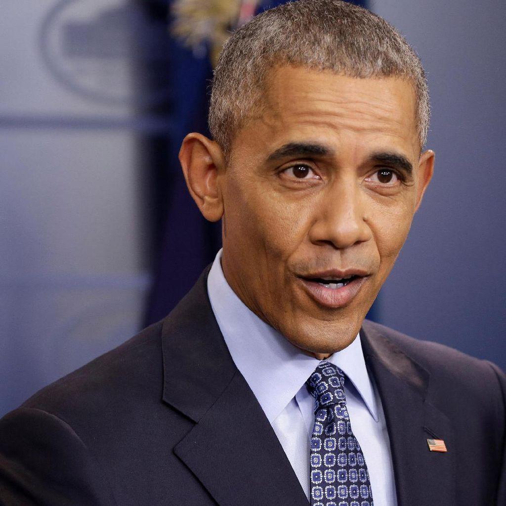 Akhiri Masa Jabatan, Angka Kepuasan Obama Tetap Tinggi