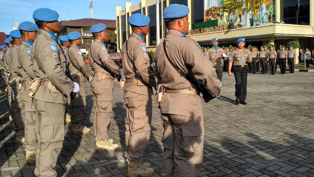 Kapolri Lepas 140 Pasukan Perdamaian ke Sudan