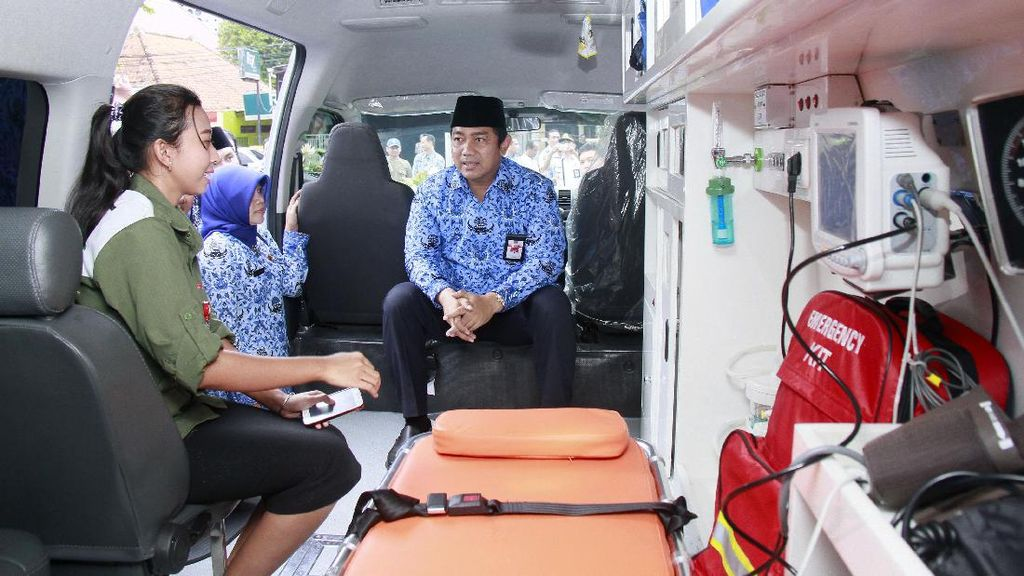 Semarang Punya Ambulans Reaksi Cepat Berfasilitas Lengkap