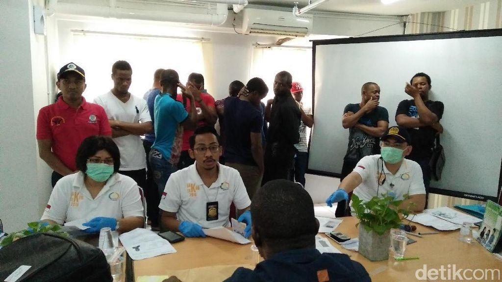 Imigrasi Jakut Jaring 80 WN Nigeria di Apartemen Gading Nias