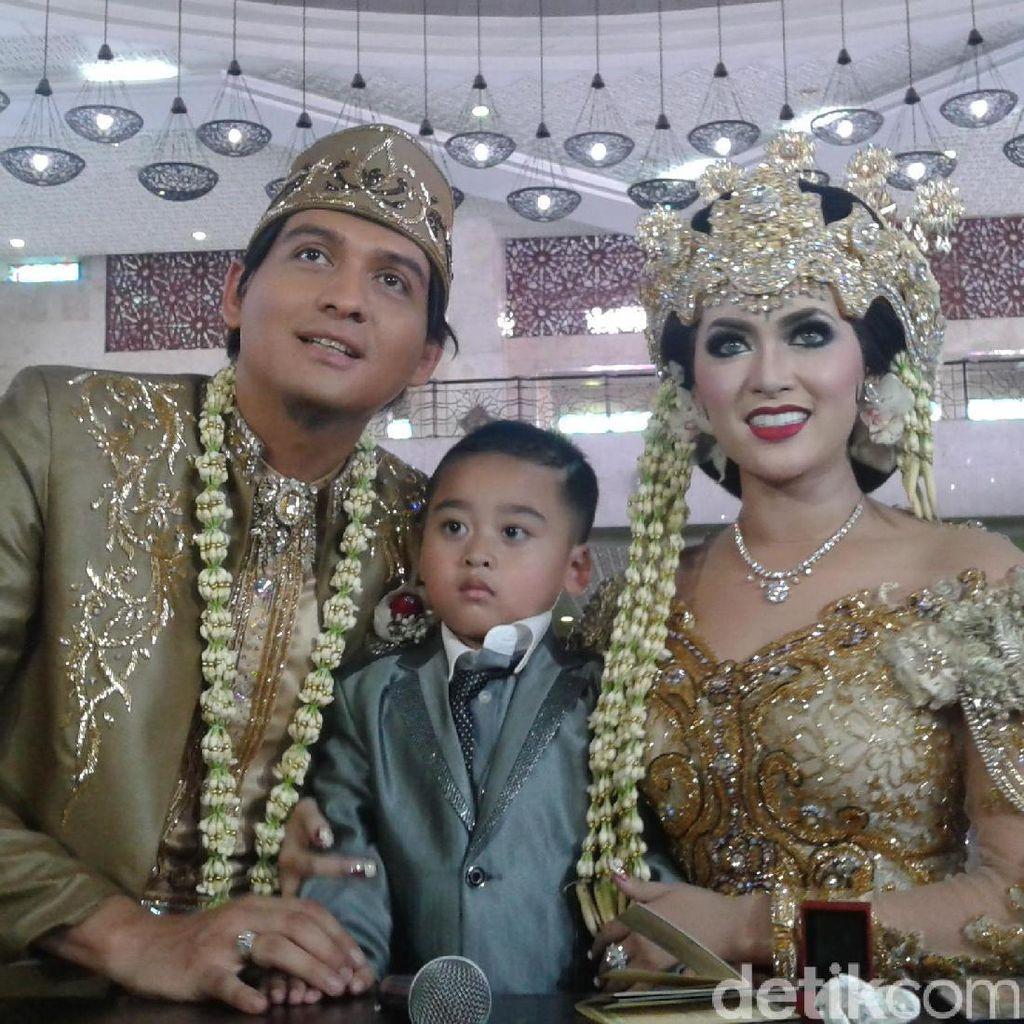 Lucky Hakim Resmi Nikahi Tiara Dewi