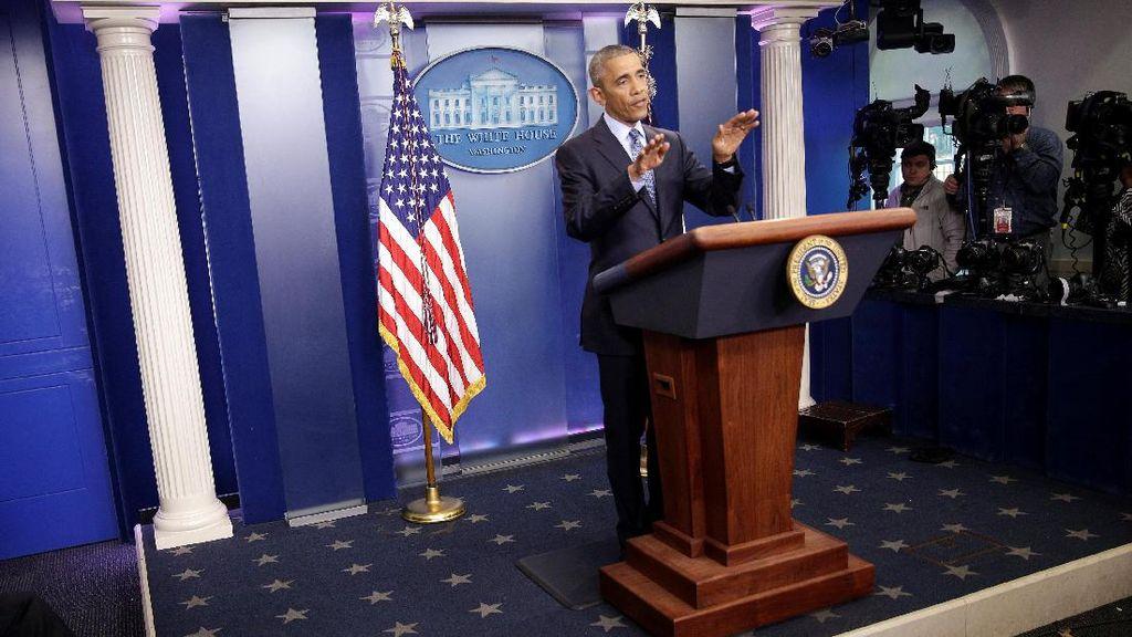 Usai Hadiri Pelantikan Trump, Obama dan Keluarga Akan Berlibur